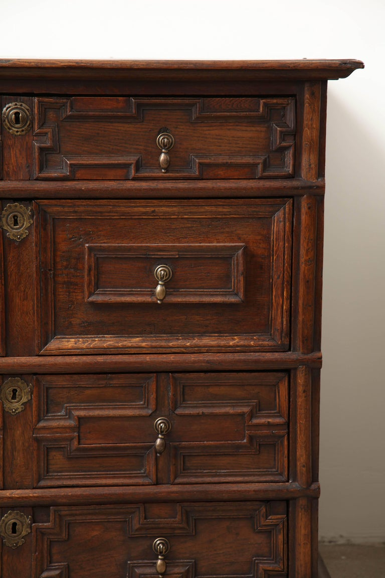 Other 18th Century English Oak Chest For Sale