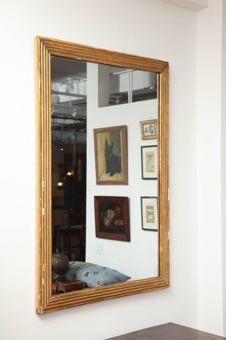Antique gold mirror, circa 1800