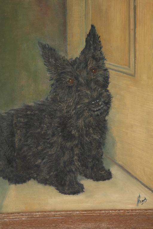 1940s Scottie painting.