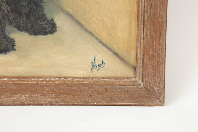 American Scottie Painting For Sale