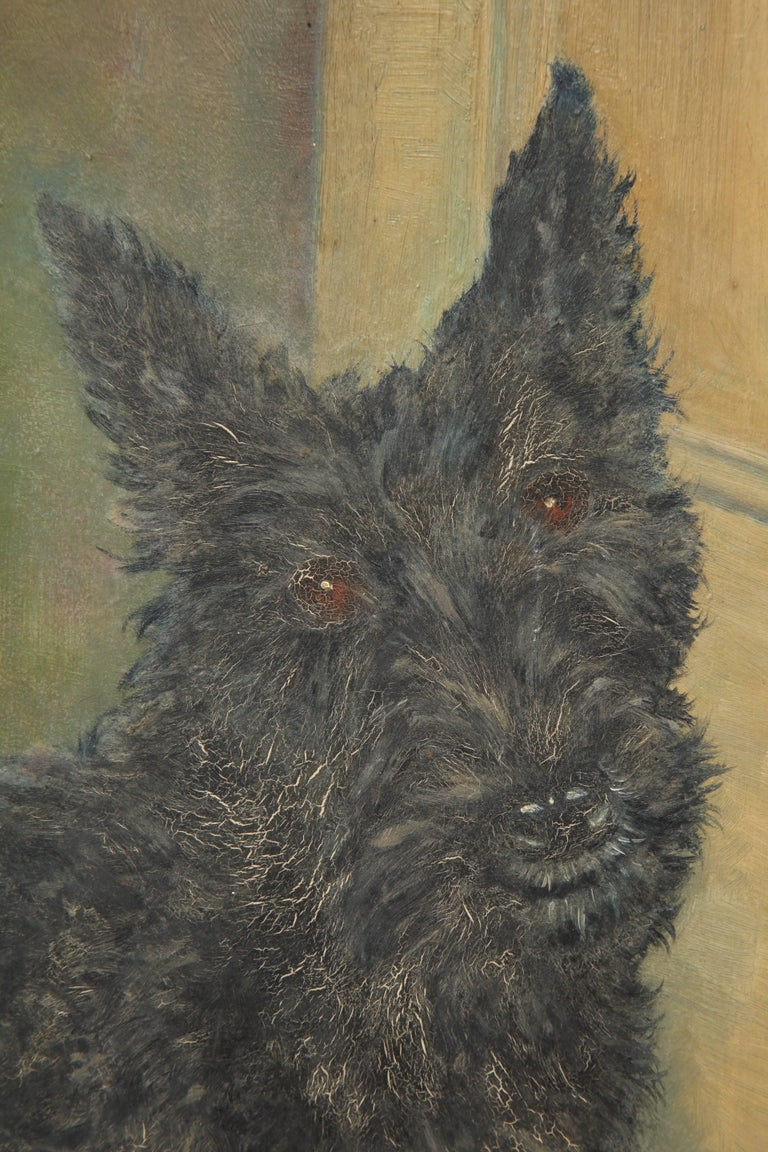 Scottie Painting In Good Condition For Sale In West Hollywood, CA