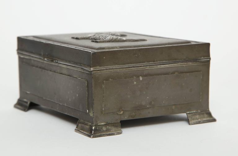 Scottie Brass Box For Sale 1