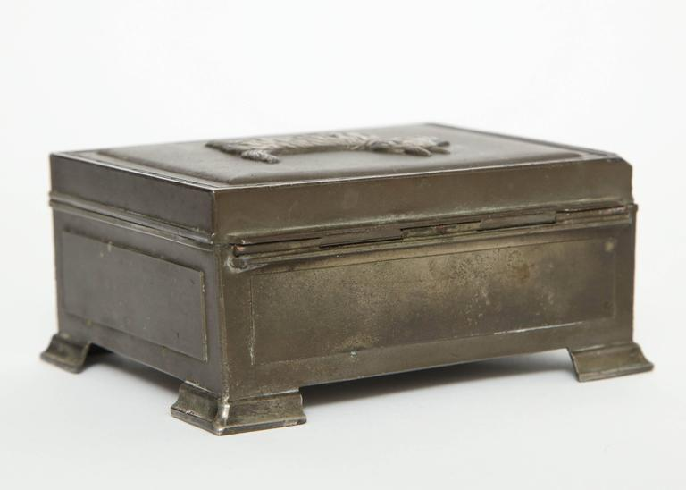 Scottie Brass Box For Sale 2