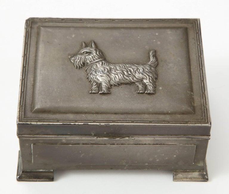 Scottie Brass Box For Sale 4
