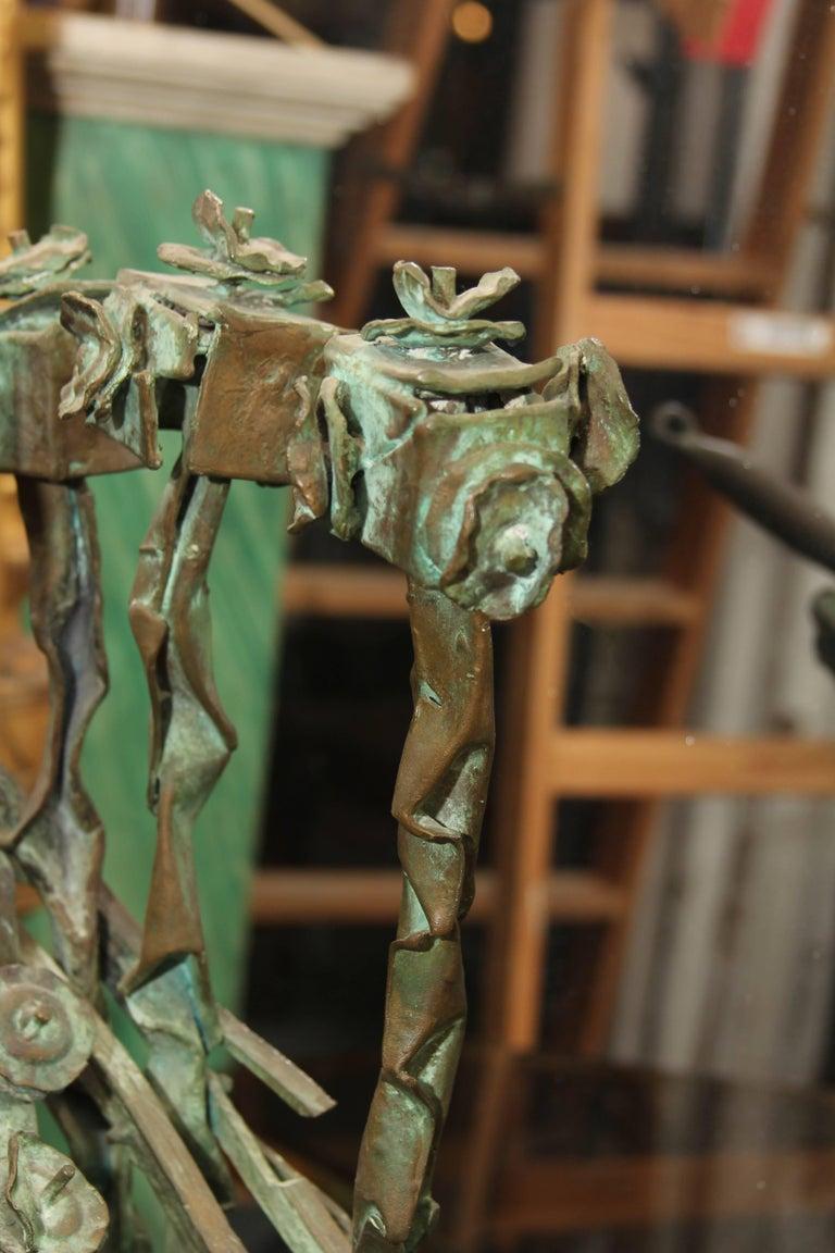 20th Century Mid-Century Bronze Sculpture For Sale