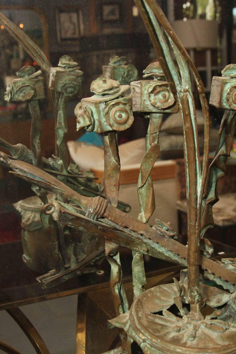 Mid-Century Bronze Sculpture For Sale 2