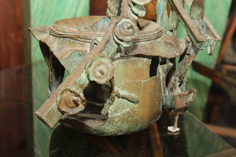 Mid-Century Bronze Sculpture For Sale 4