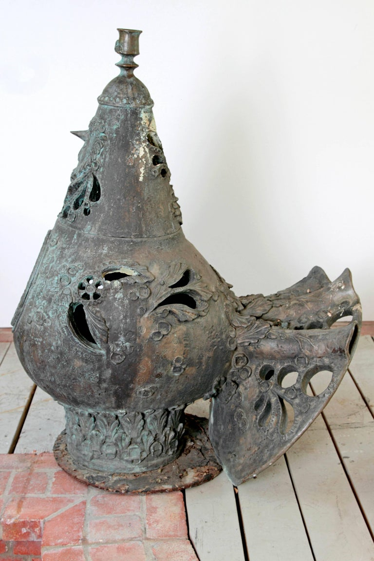 Danish Bronze Peacock Fountains by Bjorn Wiinblad For Sale