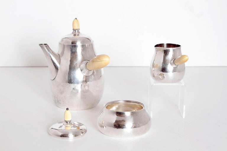 Sterling Silver Coffee Set by Georg Jensen 2