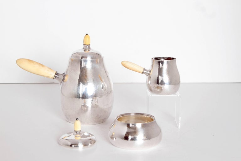 Sterling Silver Coffee Set by Georg Jensen 3