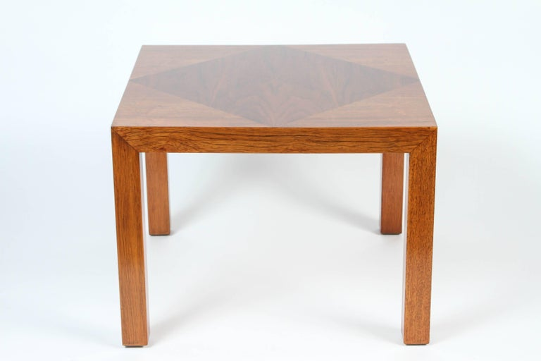 Mid-Century Walnut Nesting Tables from Lane For Sale 4
