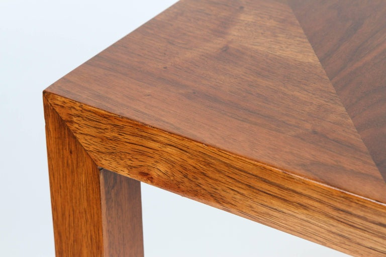 Mid-Century Walnut Nesting Tables from Lane For Sale 5
