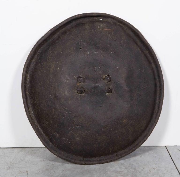 Antique Primitive Ethiopian Hide Shield For Sale 2