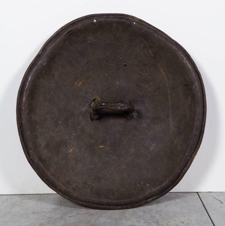 Antique Primitive Ethiopian Hide Shield For Sale 4