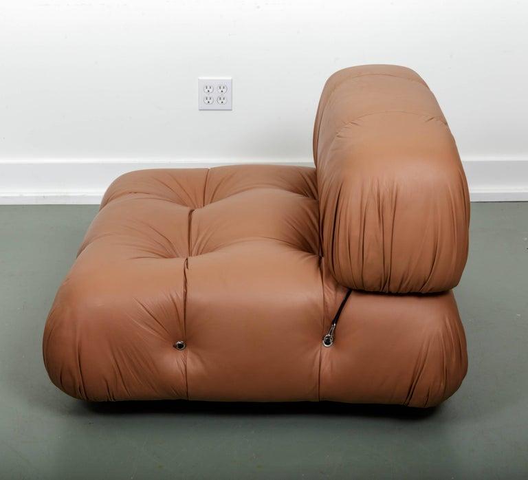 Italian Leather Sofa Edmonton: C&B Italia, Camaleonda Leather Sectional Sofa At 1stdibs
