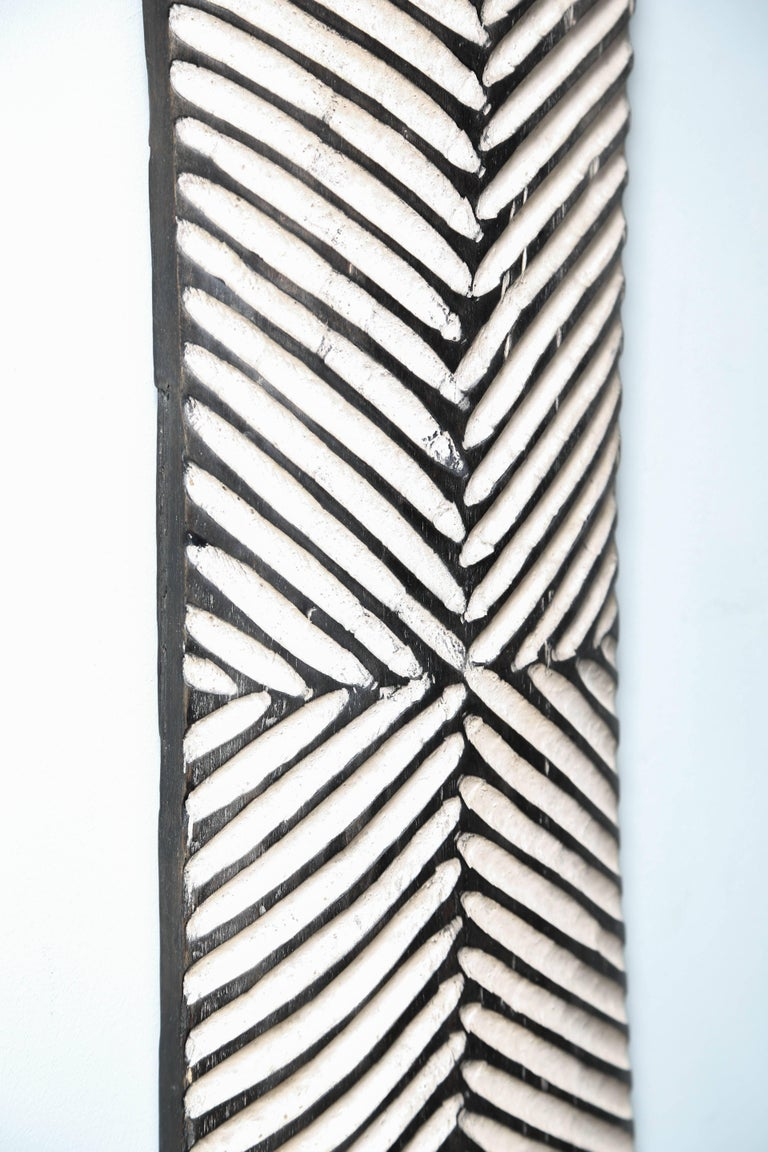 Pr/Bamun Shields, Geometrically Hand-Carved Shields, Modern, sell one if needed 5