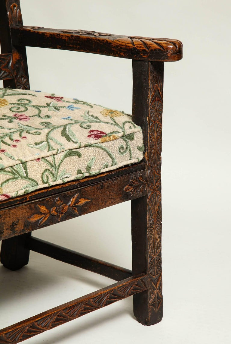 18th Century English Folk Art Chair 3
