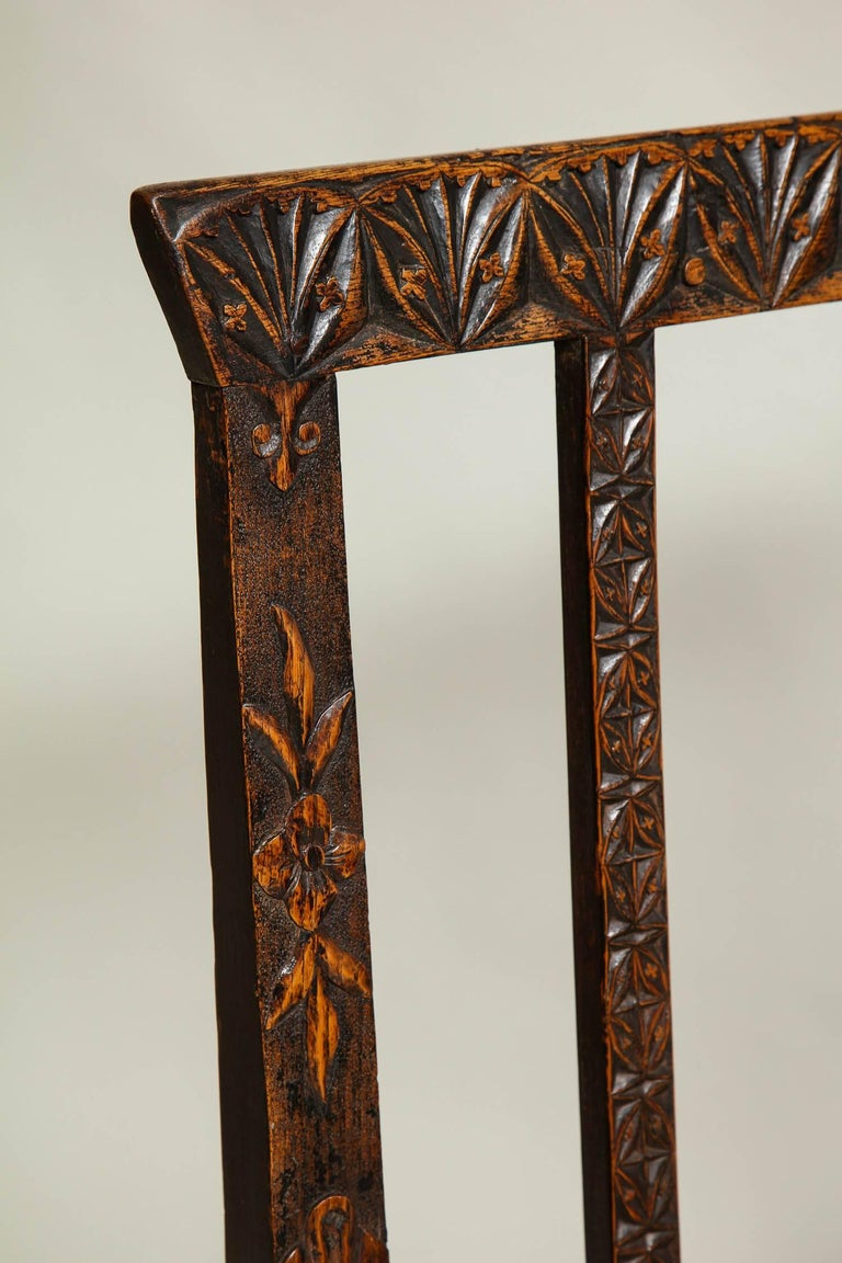 18th Century English Folk Art Chair 4