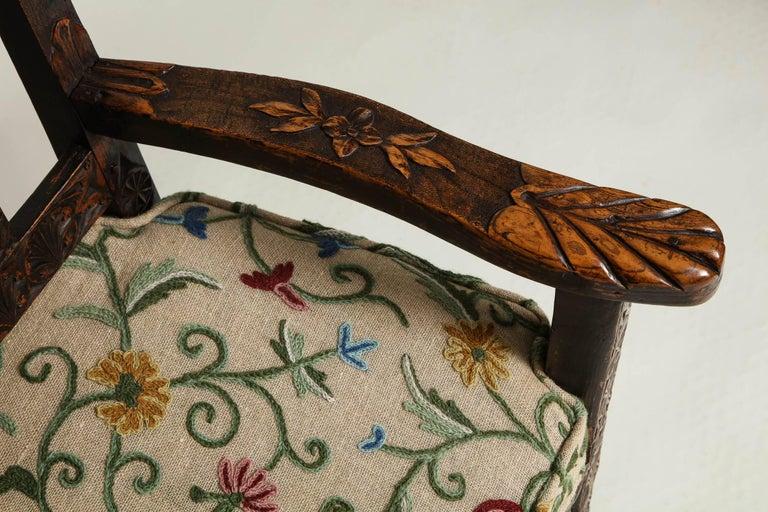 18th Century English Folk Art Chair 6