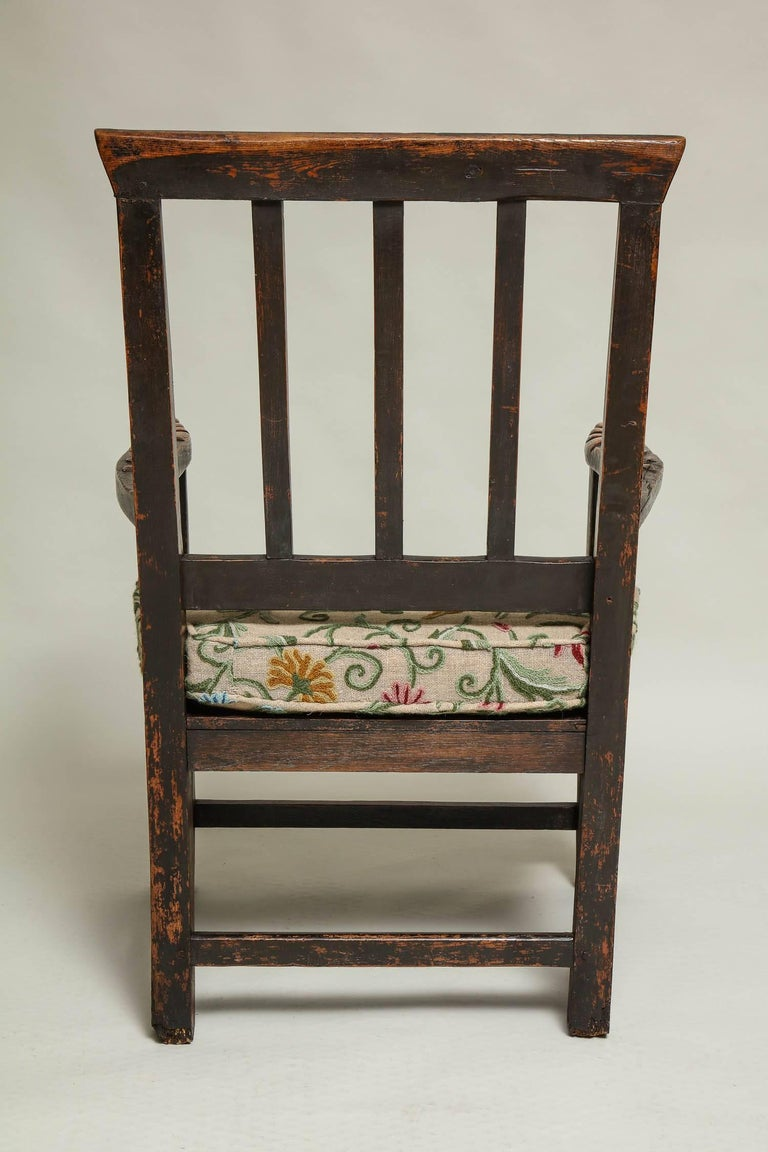 18th Century English Folk Art Chair 9