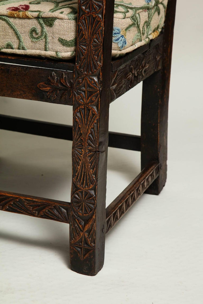 18th Century English Folk Art Chair 10