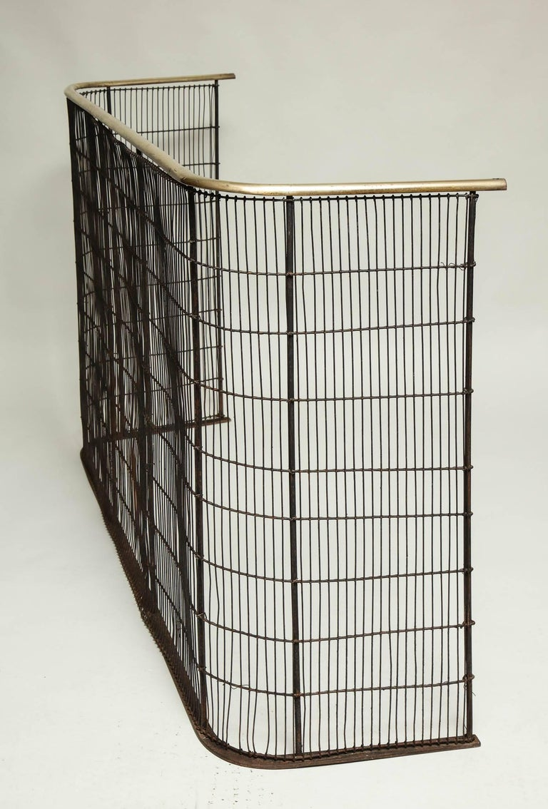 Large And Impressive English Fire Screen For Sale At 1stdibs