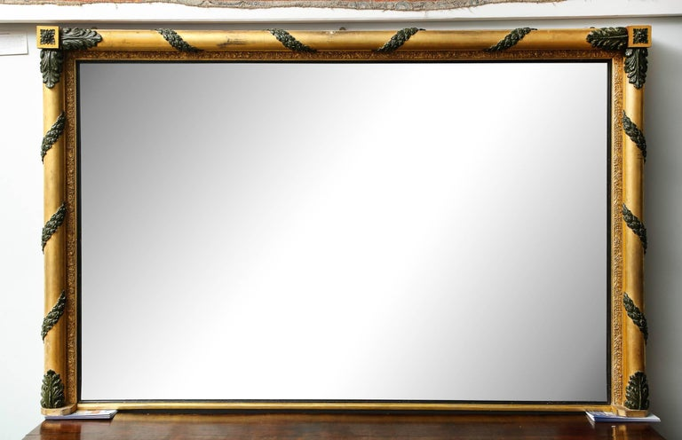 Massive Regency Overmantel Mirror 2