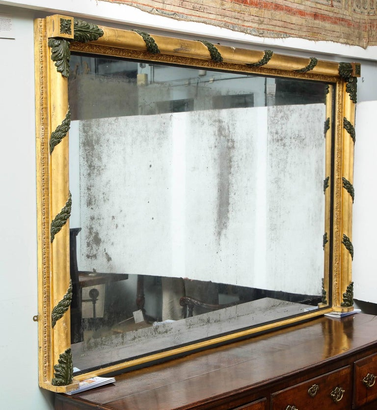 Massive Regency Overmantel Mirror 3