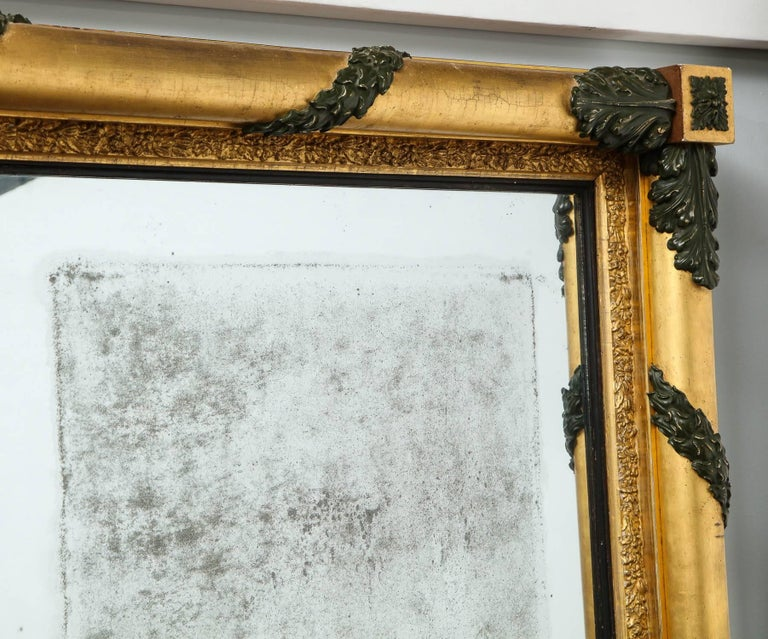 Massive Regency Overmantel Mirror 5