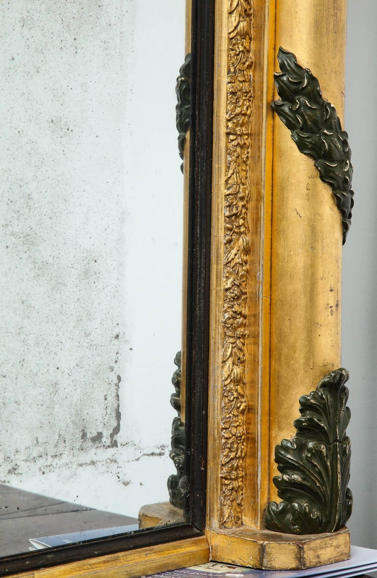 Massive Regency Overmantel Mirror 6
