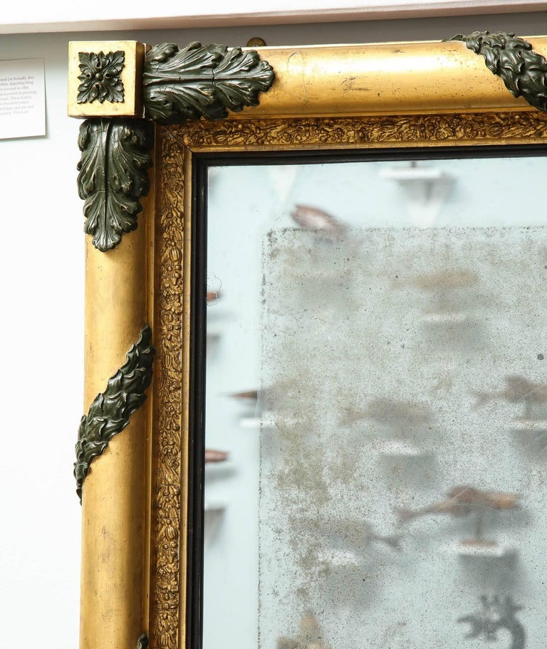 Massive Regency Overmantel Mirror 7