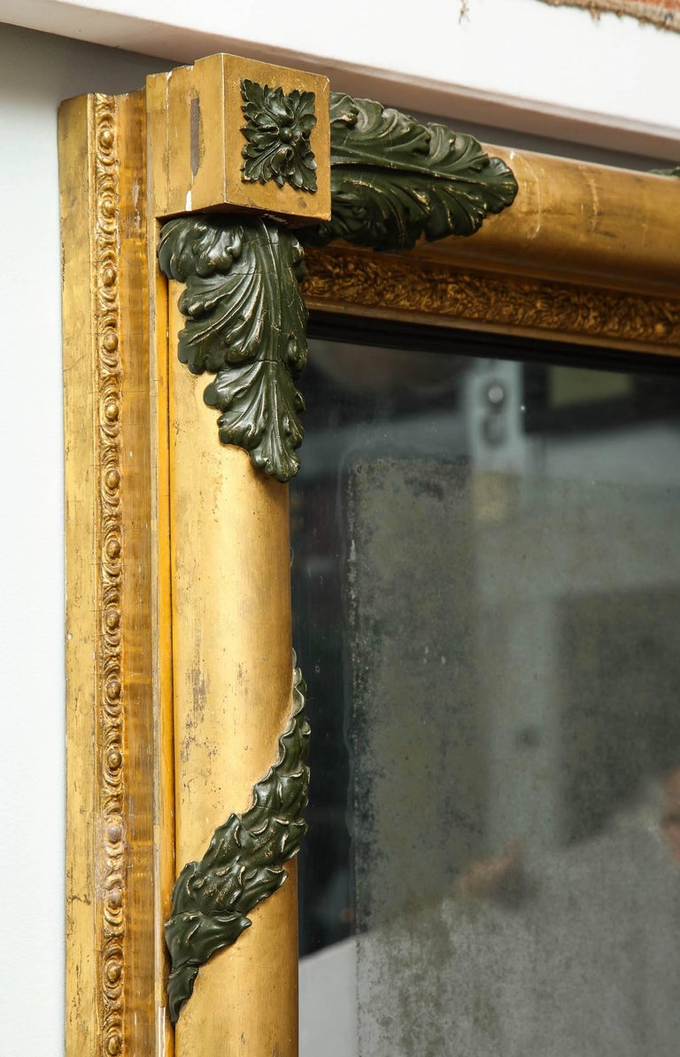 Massive Regency Overmantel Mirror 9