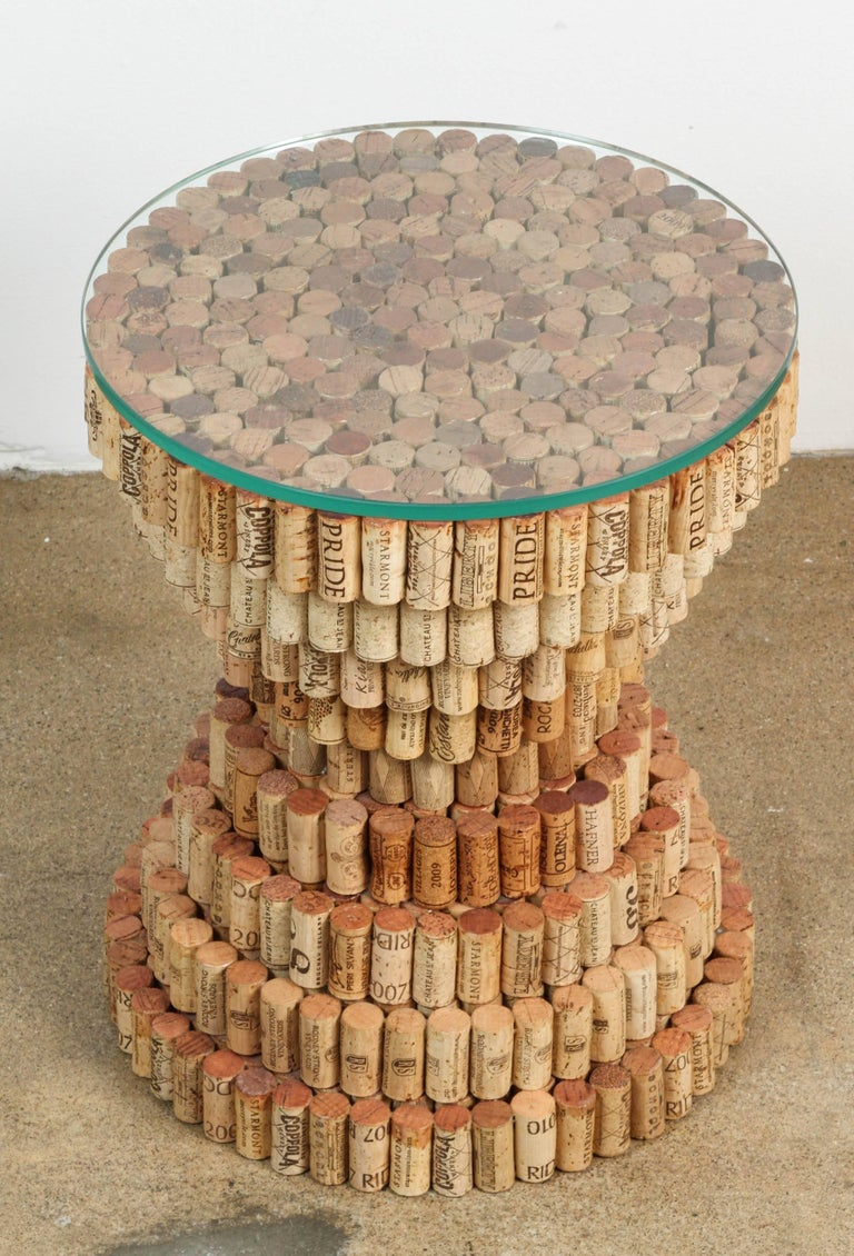 how to make a cork table top