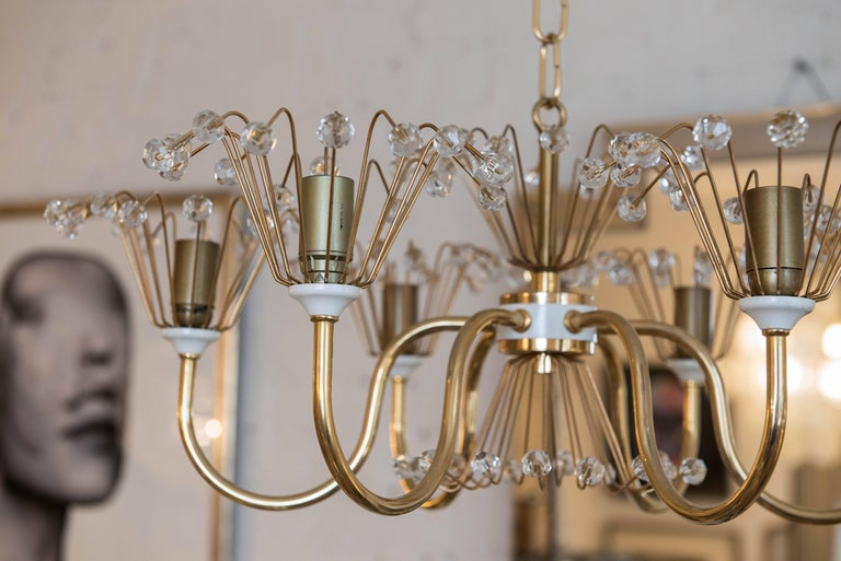 Austrian Emil Stejnar Chandelier For Sale