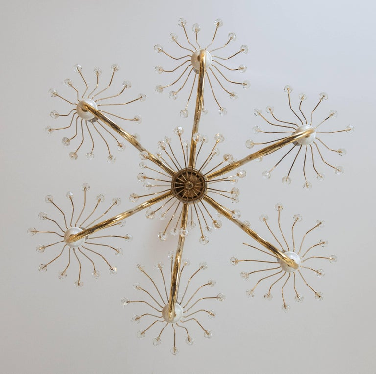 Mid-20th Century Emil Stejnar Chandelier For Sale