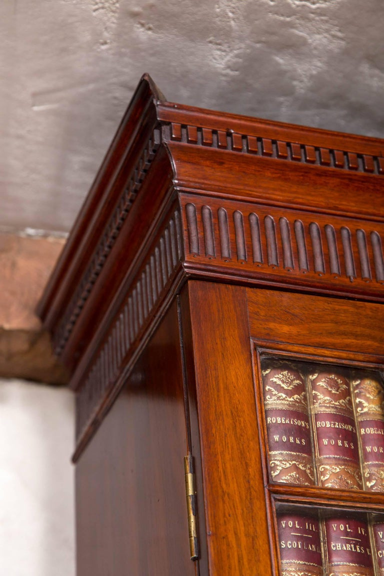 George III Slant Front Bookcase or Secretary For Sale 1