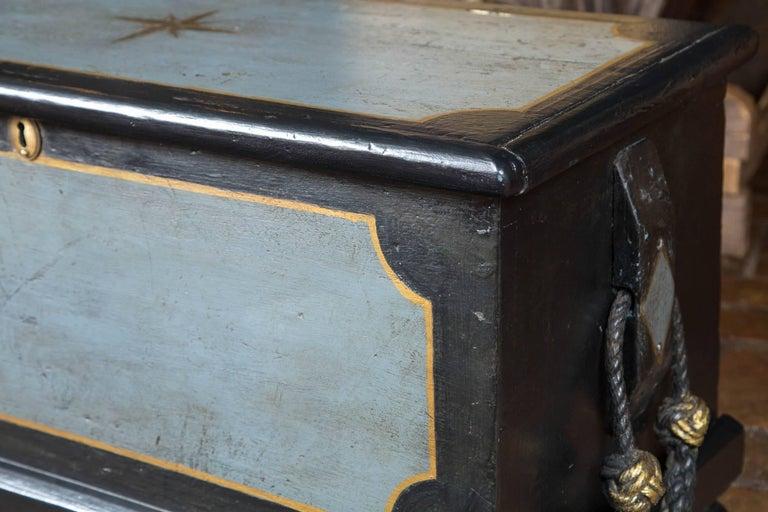 British 19th Century Welsh Seaman's Chest For Sale