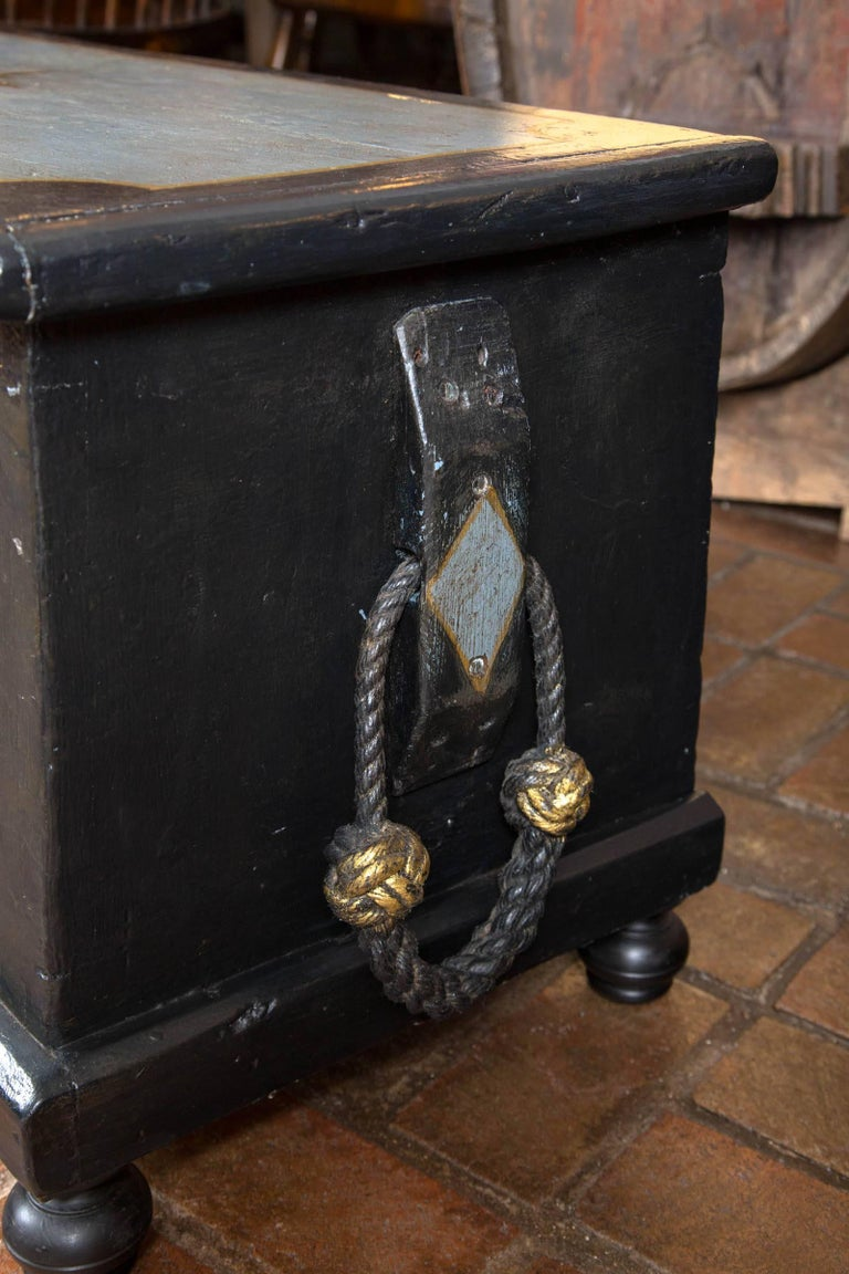19th Century Welsh Seaman's Chest In Excellent Condition For Sale In Woodbury, CT