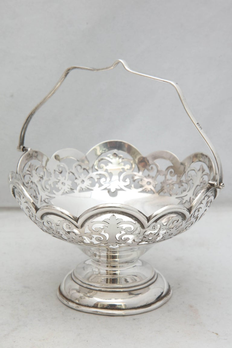 Early 20th Century Beautiful Edwardian Style George V Sterling Silver Epergne/Centerpiece For Sale