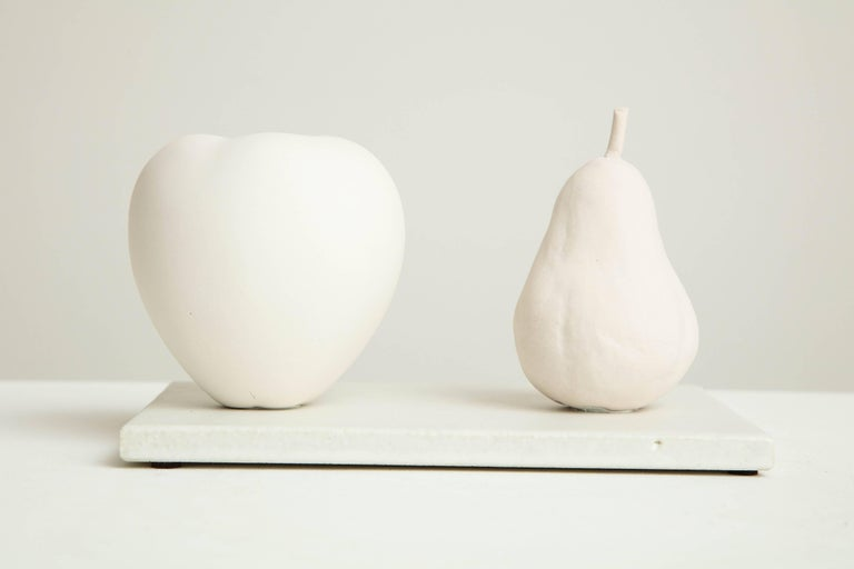 White porcelain