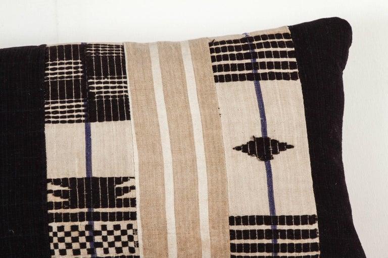 Vintage African Ashante Lumbar Pillow 2