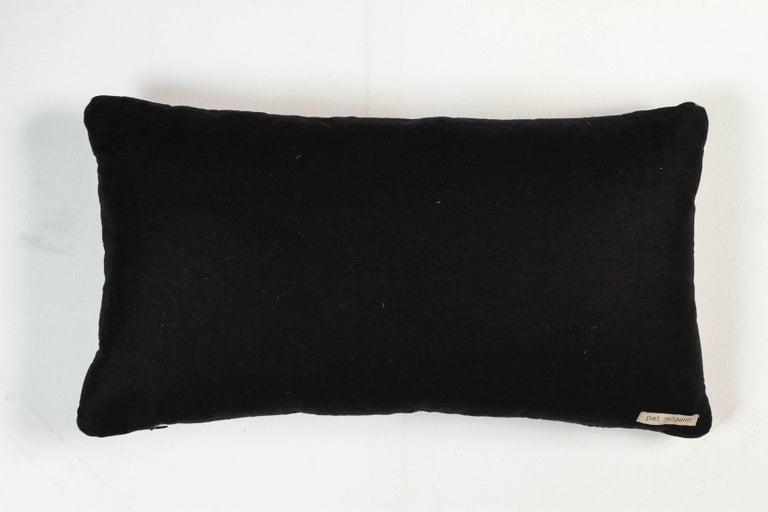 Vintage African Ashante Lumbar Pillow 3