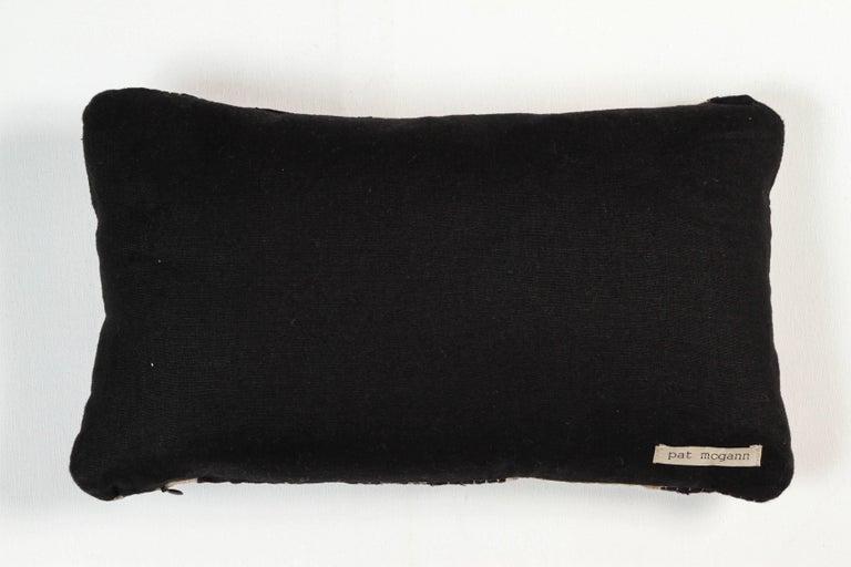 Vintage African Ashante Lumbar Pillow 4