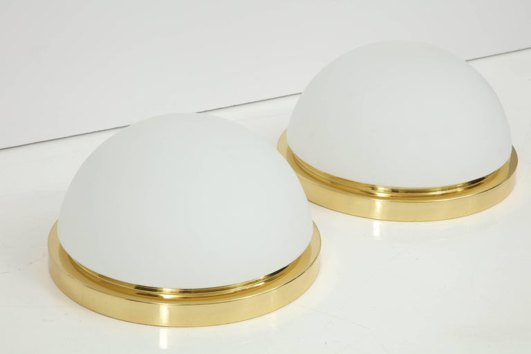 Extra Large Flush Mount Fixtures or Sconces by Limburg For Sale 2