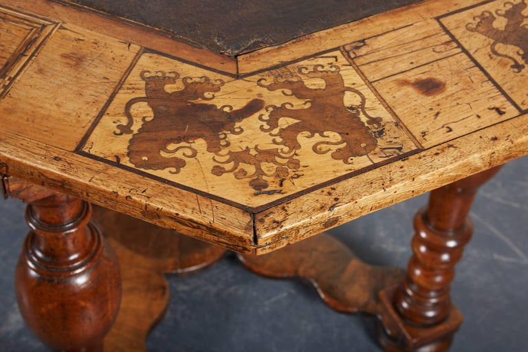 Late 17th Century French Laburnum and Marquetry Centre Table For Sale 3
