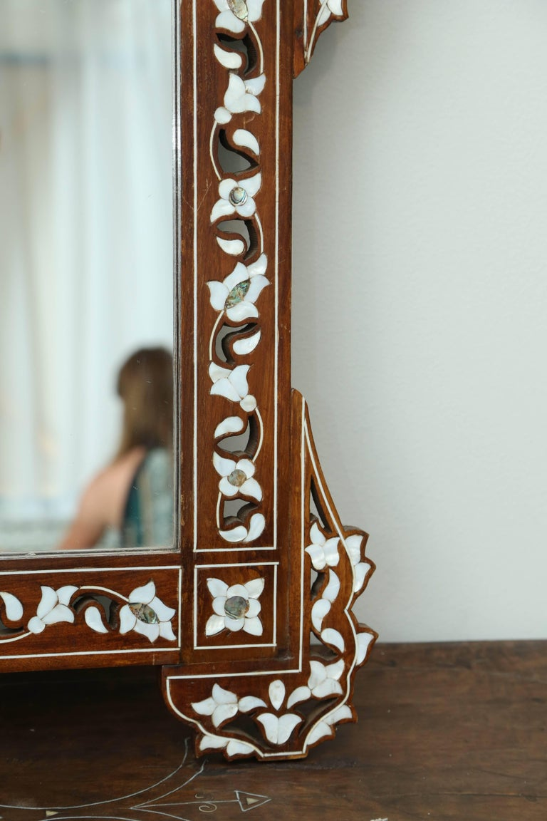 Syrian Mother-of-Pearl Inlay Mirror 3