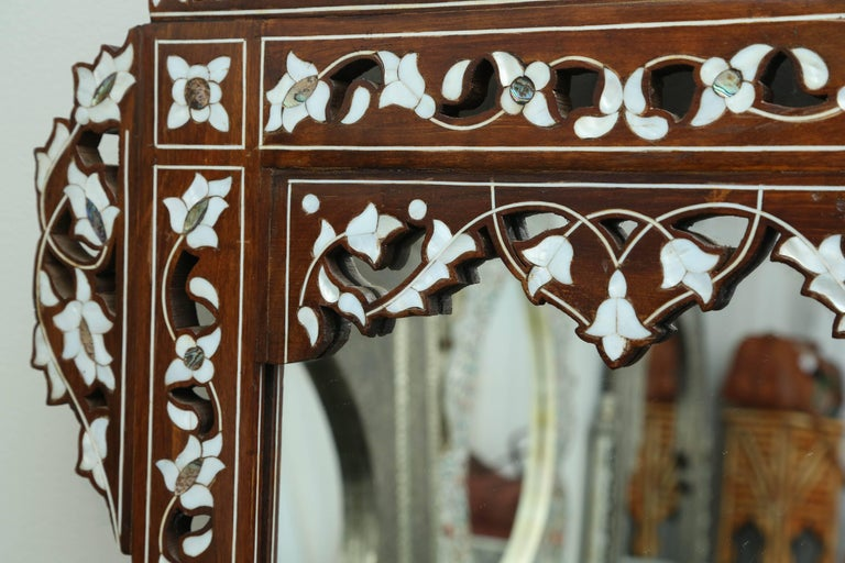 Syrian Mother-of-Pearl Inlay Mirror 7
