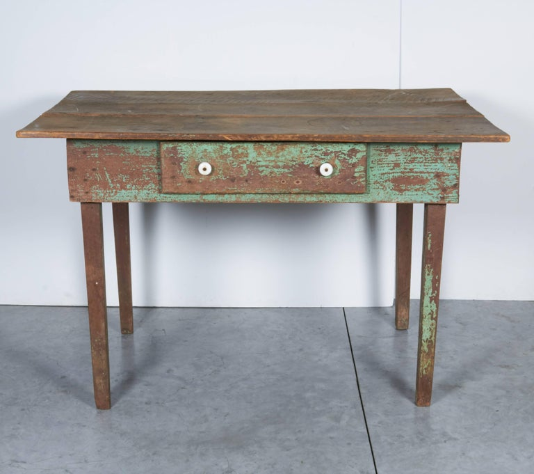 antique american work table for sale at 1stdibs. Black Bedroom Furniture Sets. Home Design Ideas