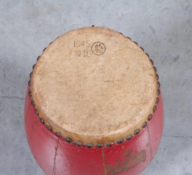 Antique Chinese Provincial Drums For Sale 1