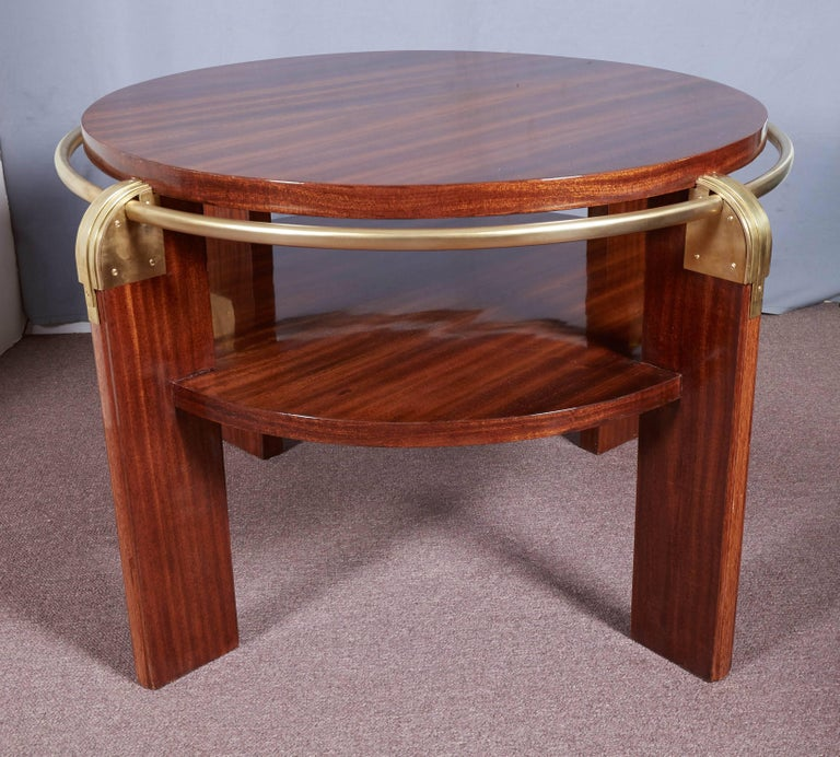 Modern French Coffee Table: Pair Or Single French Modern Gueridon, Low Side Or Coffee